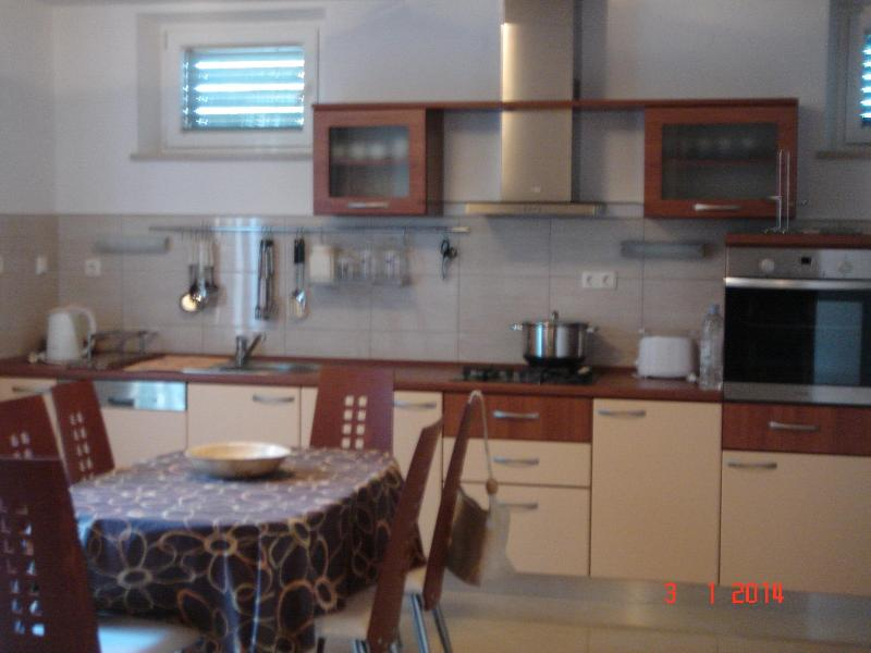 Kitchen/Dining Area - Lovely Apartment on the Island of Murter town of Betina, Croatia - Betina - rentals