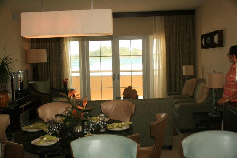 Dining room with living room in background - Dream Vacation in the Caribbean - Sint Maarten - rentals