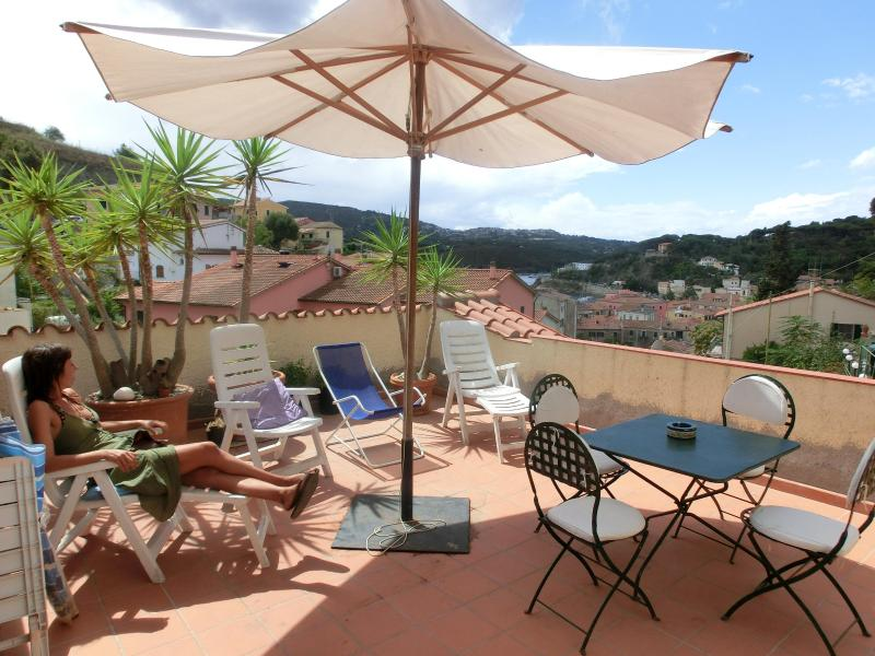 Terrace - Vacation Rental in Porto Azzurro on Elba Island - Porto Azzurro - rentals