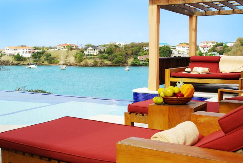 The Pool House - 2 Bedroom Luxury Villa - Image 1 - Lance Aux Epines - rentals