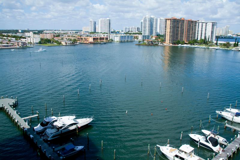 Water view 2 br. appartment in Sunny Isles Beach 1202 - Image 1 - Sunny Isles Beach - rentals
