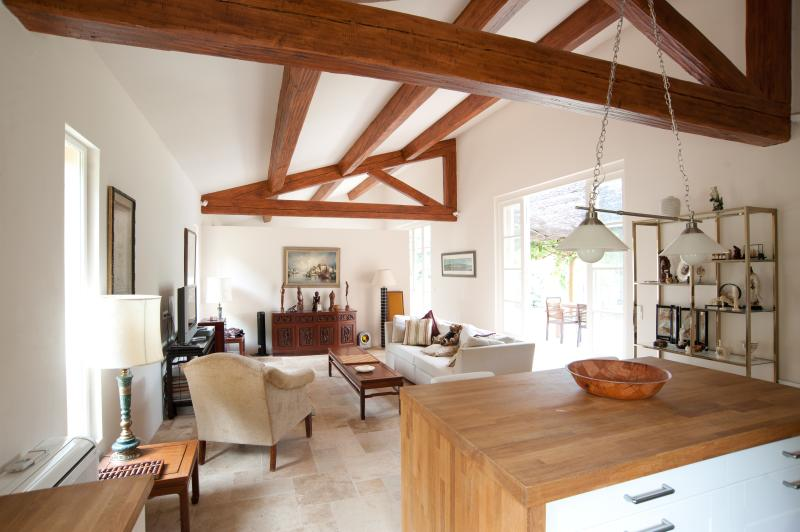 Salon - Cottage on beautiful secluded estate in Provence - Villecroze - rentals