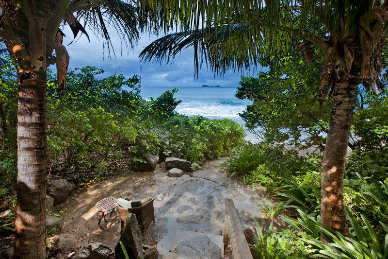 Walkway to the Beach - Sundowner - Virgin Gorda - rentals
