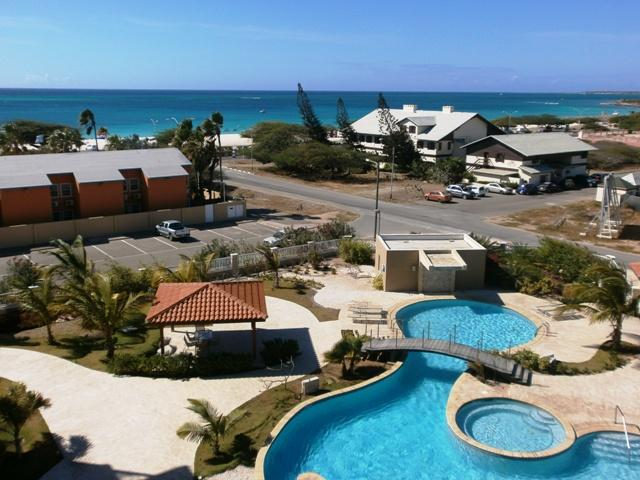 Panoramic ocean view from Eagle Beach to Palm beach and beyond! - Oasis Grand View Two-bedroom condo - OS32 - Eagle Beach - rentals