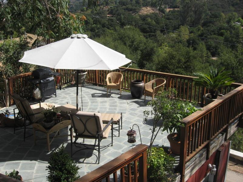 Patio View - Charming 2 Story Mountain Guest House- 5 miles to - Topanga - rentals
