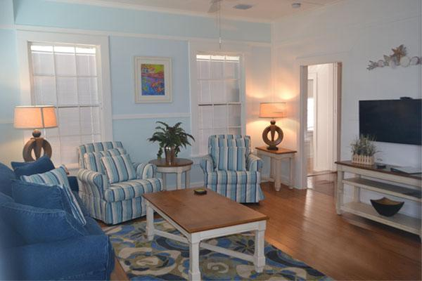 The Nassau Suite - Living Room - 1/2 Block to Duval, World of its own -Nassau Suite - Key West - rentals
