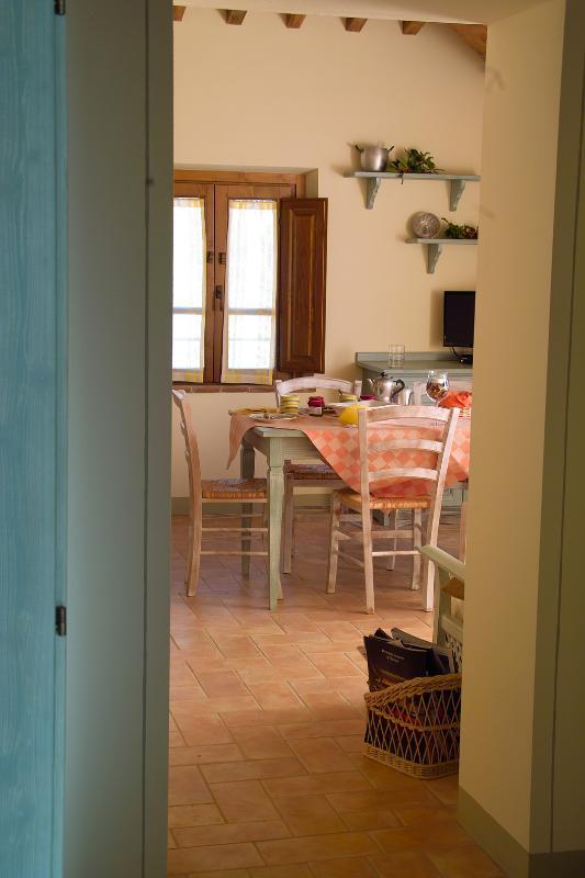 """The kitchen - Locanda del Viandante - The """"Suite Biancospino"""" surrounded by nature - Anghiari - rentals"""