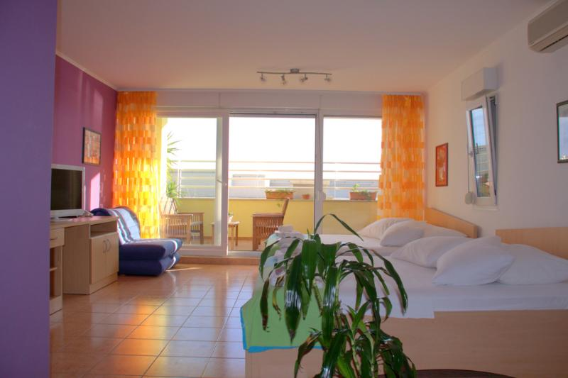 Beachfront Stylish Apartment in Split  for 4 Adults on Žnjan Beach (A4) - Image 1 - Split - rentals
