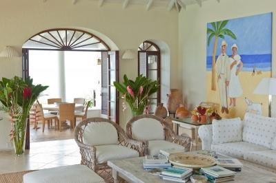3 Bedroom Villa with Cliff Side Infinity Pool in Mustique - Image 1 - Mustique - rentals