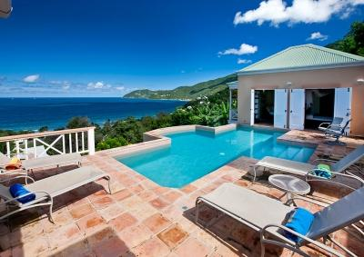 Scenic 3 Bedroom Villa on Tortola's West End - Image 1 - Tortola - rentals