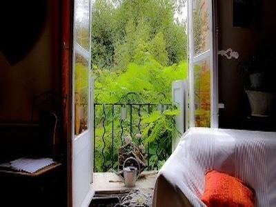 View of the garden - La Boheme 2 Bedroom Flat with Fireplace and Balcony, in Aix en Provence - Aix-en-Provence - rentals