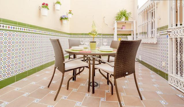 Fresh Andalusian Patio - Nice House In The City Center - Malaga - rentals