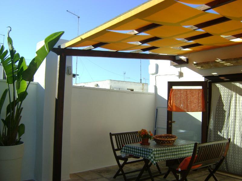 Private terrace - Typical Apulian House, private terrace, near sea - Polignano a Mare - rentals