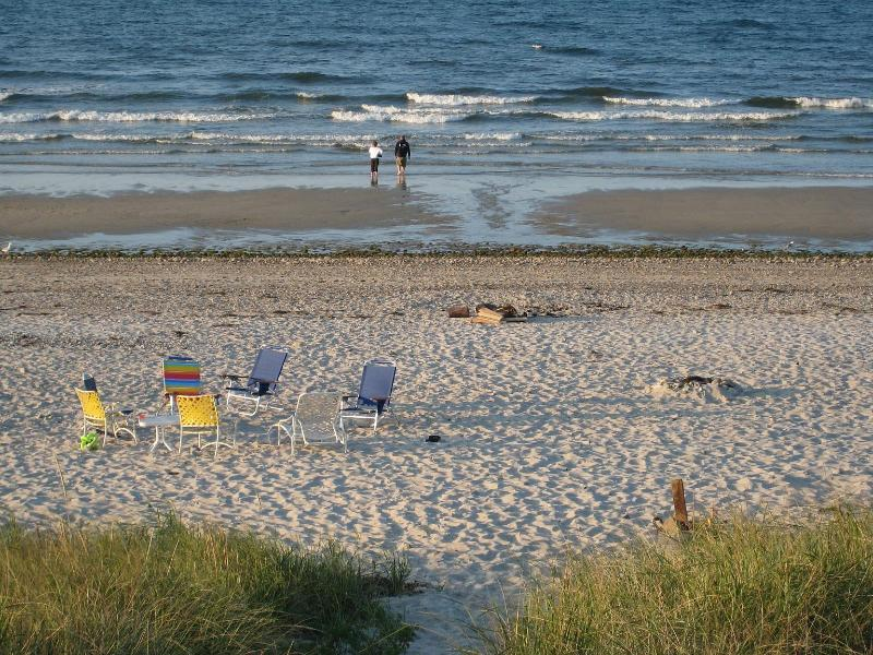 Your back yard - Oceanfront on Cape Cod Bay - East Sandwich - rentals