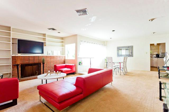 Living Room 1 - 4 Bedrm, Amazing House, in The Heart of Hollywood! - Los Angeles - rentals
