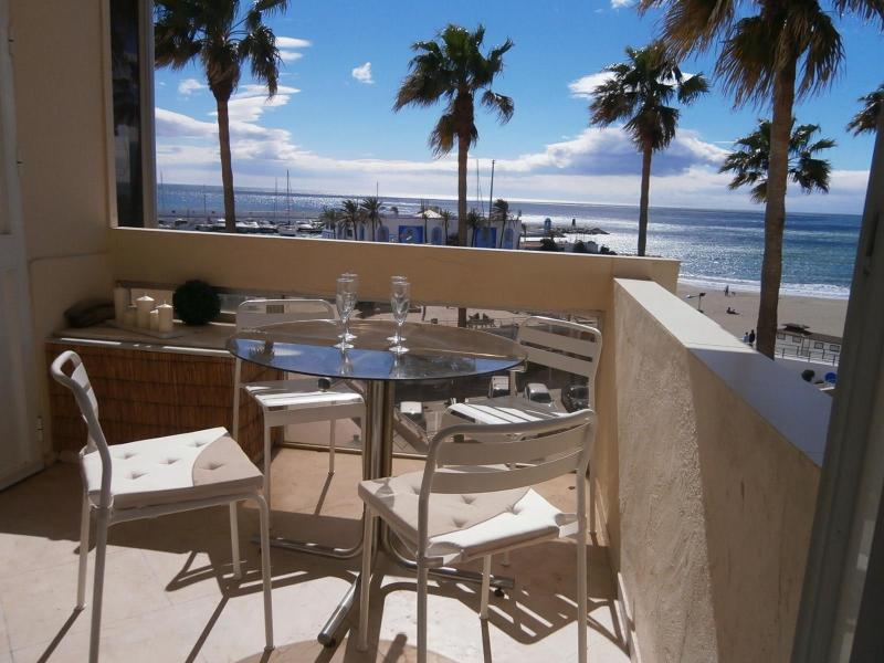 Terrace - Beachfront Faro-Marbella,wifi,terraces,A/A,6peopl - Marbella - rentals