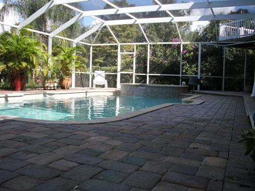 Pool and patio area - Sarasota Florida Book now for May June July - Sarasota - rentals