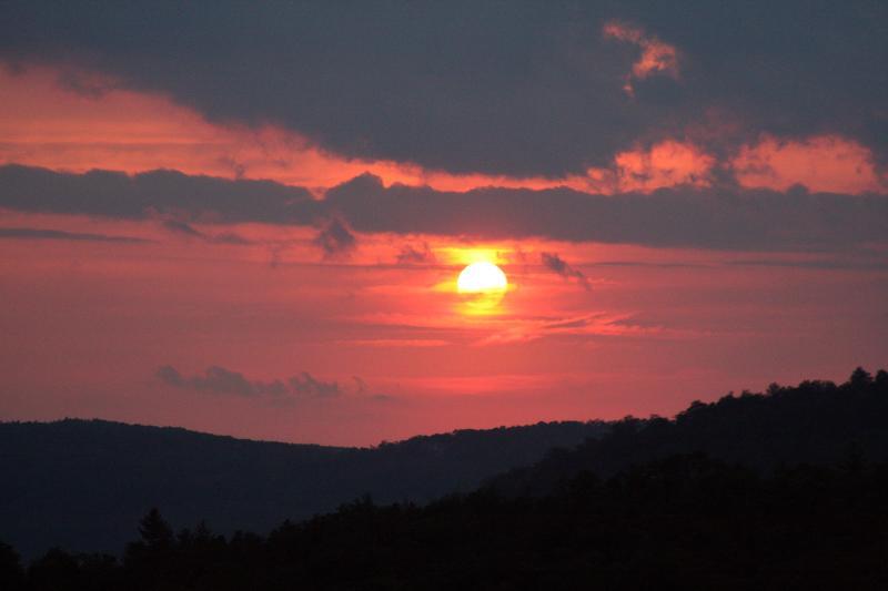 Sunset - Moon Castle - Cashiers - rentals