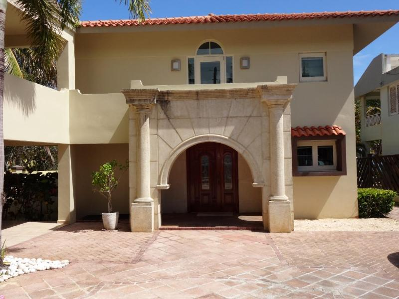 Main Entrance of the Villa - Dorado Oceanfront Villa; Up to 40% Off% - Dorado - rentals