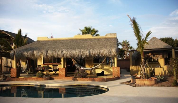 Main house with Pool - Surf Vacation in El Pescadero - El Pescadero - rentals