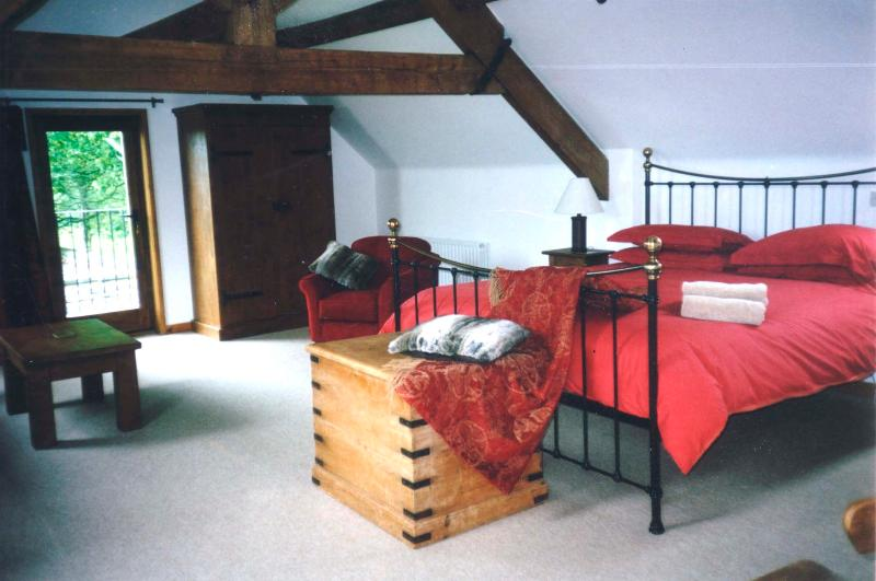 Master Bedroom - The Groom's Quarters, Peak District , 5 * Hol cott - Ashbourne - rentals