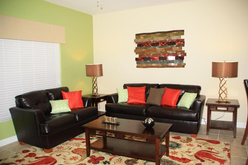 Living Area - Luxurious 4 Bedroom home at Paradise Palms - Kissimmee - rentals