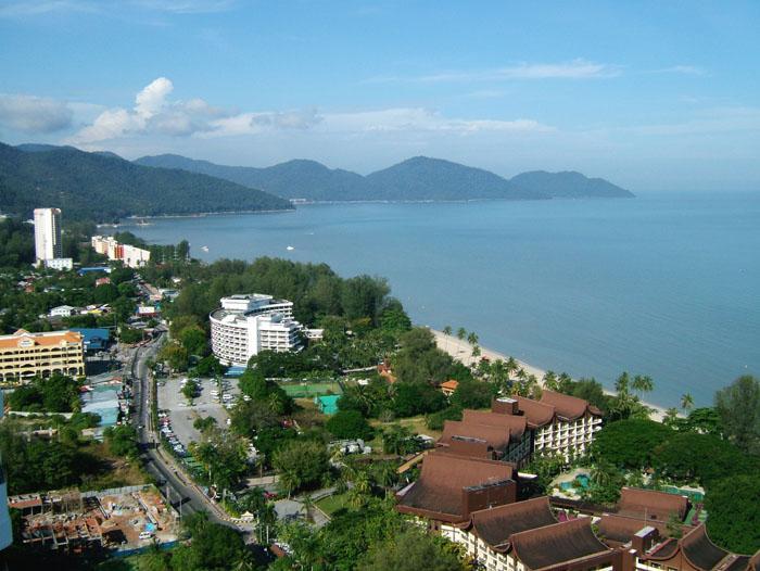 View from Sri Sayang - Susie's Seaside Holiday Apartments Penang - Batu Ferringhi - rentals