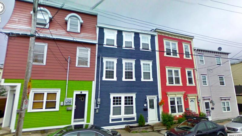 The First House - 3 Bedroom Apt, top 2 floors of a house in the heart of Downtown St. John's - Saint John's - rentals