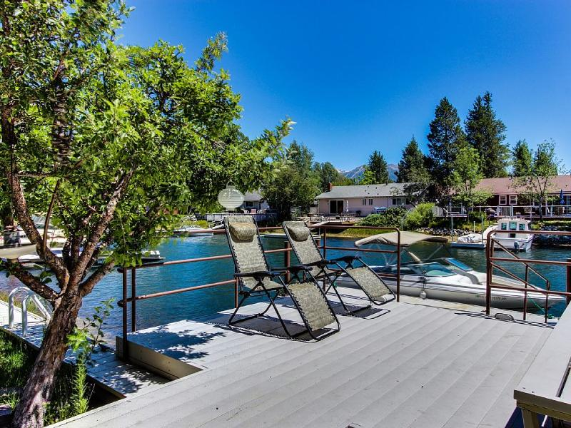 Private Over Water Deck Leading to Your Own Boat Dock - Tahoe Waterfront, Hot Tub, Pool Table, Sauna, Dock - South Lake Tahoe - rentals