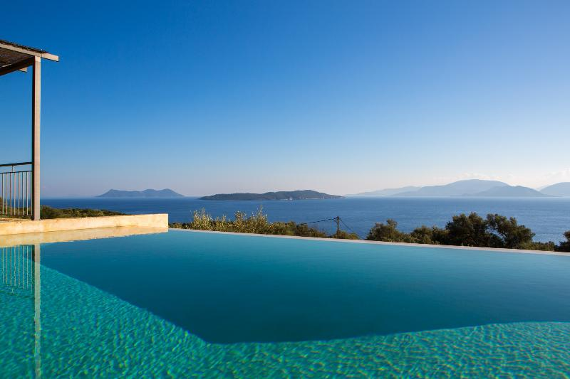 Villa Portokali - Spacious, luxury villa with endless seaview - Image 1 - Sivota - rentals