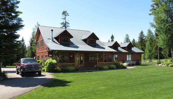 The Ranch house - Cougar Trail Ranch, Flatheads Family Reunion Spot. - Bigfork - rentals