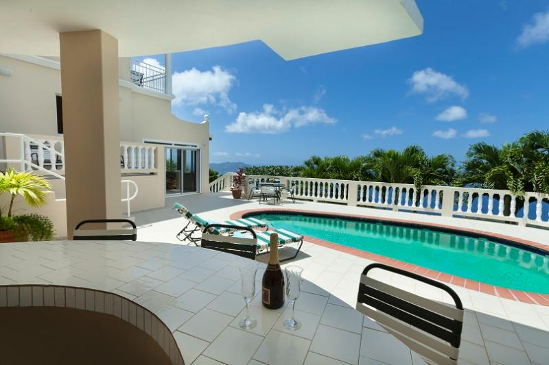 Emerald Crest at Lower Estate, Tortola - Ocean View, Amazing Sunset Views, Pool - Image 1 - Tortola - rentals