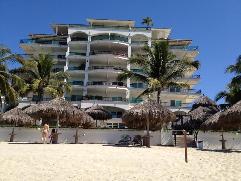 Beautiful, private beachfront building - Gorgeous BEACHFRONT 2 BR condo in private building - Puerto Vallarta - rentals