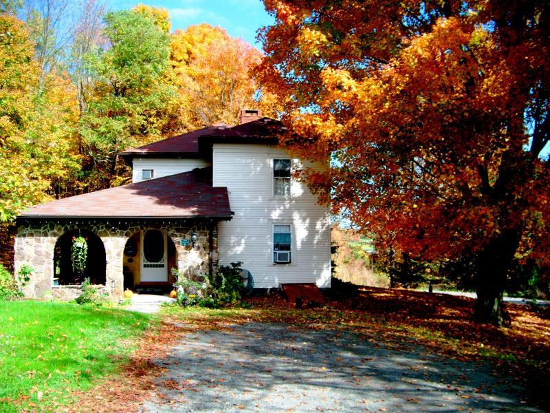 The entrance - Stone Mountain Inn on Keene Summit - Wysox - rentals