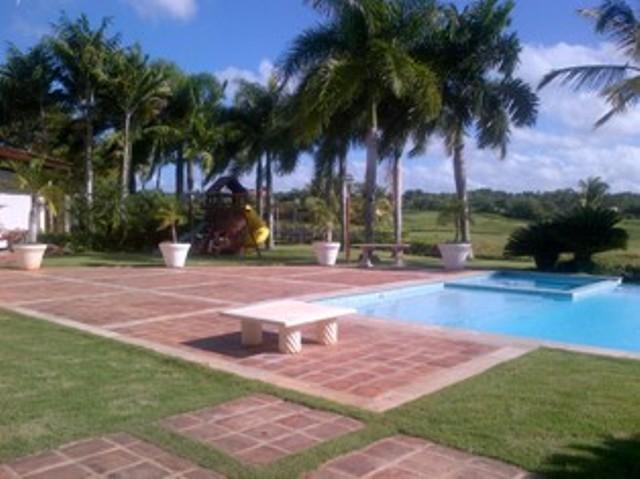 golf view - A golf villa casa de compo Dominican republic - La Romana - rentals