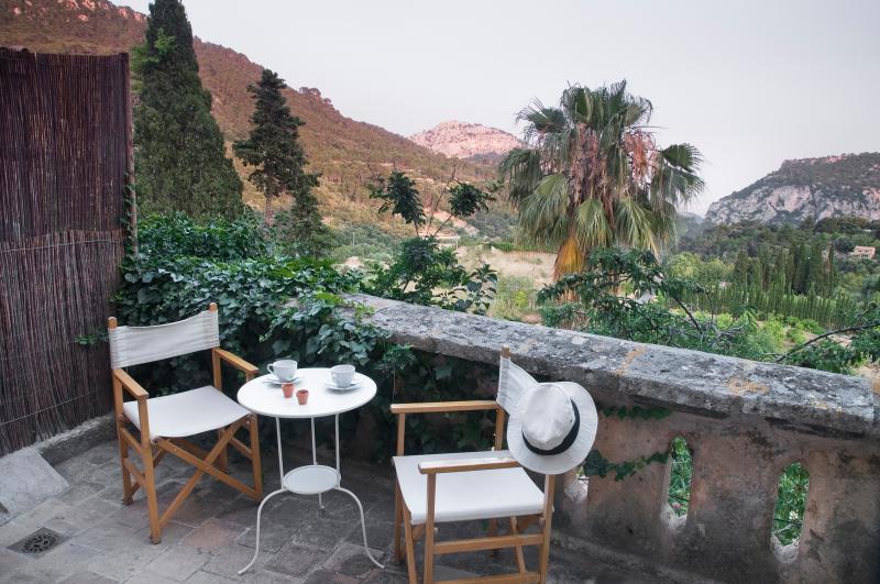 Terraza privada con vistas al valle - SLEPING IN A PALACE - Valldemossa - rentals