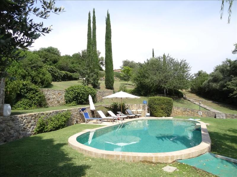 La Terrazza: A Delightful Country Villa set in Gardens and Pool in Southern Tuscany, Sleeps 4-12 - Image 1 - Capalbio - rentals