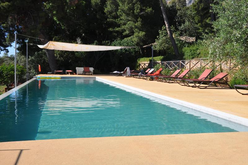 Casa Laghetto whit swimming pool and sea view - Image 1 - Trappeto - rentals