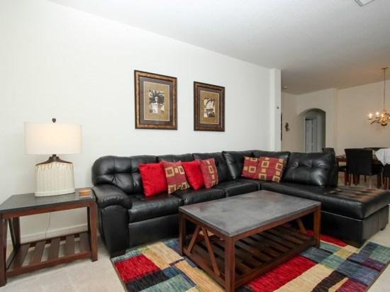 4 Bedroom 2 Bath Luxurious Kissimmee Pool Home. 2235WPW - Image 1 - Orlando - rentals