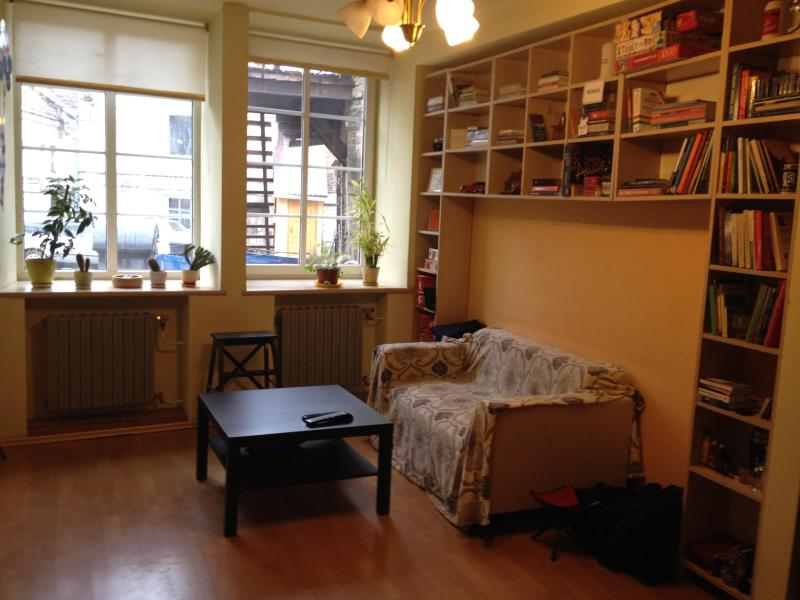 Spacious living room - Cozy apartament in the middle of Old Town - Vilnius - rentals