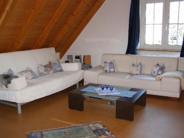 living room sitting area, - Villingen-Schwenningen; Large apartment, 6 people - Plieningen - rentals