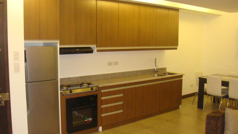 Fully equipped kitchen - Davao apartment rentals ( upmarket ) Apt. A - Davao - rentals