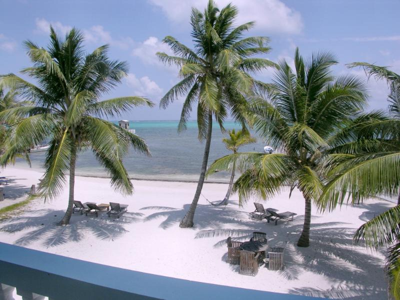 View of private beach from your balcony! - 3 bedroom condo on your own private beach! -B2 - San Pedro - rentals