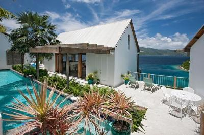 Magnificent 2 Bedroom Villa with Ocean View on St. John - Image 1 - Saint John - rentals
