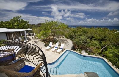Distinguished 4 Bedroom Villa with View on Virgin Gorda - Image 1 - Little Trunk Bay - rentals