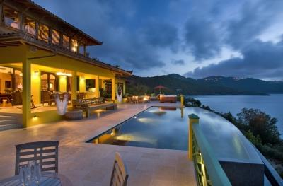 Fabulous 5 Bedroom Villa with Jacuzzi on Tortola - Image 1 - Guana Island - rentals