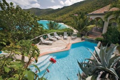 Glorious 4 Bedroom Waterfront Villa in Peter Bay - Image 1 - Peter Bay - rentals