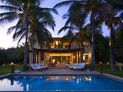 Beautiful 4 Bedroom Home Overlooking Banderas Bay in Punta Mita - Image 1 - Punta de Mita - rentals