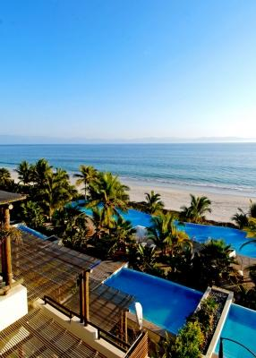 Idyllic 4 Bedroom Beachfront Apartment in Punta Mita - Image 1 - Punta de Mita - rentals