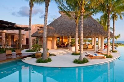 9 Bedroom Beachfront Estate with Private Pool in Punta Mita - Image 1 - Punta de Mita - rentals